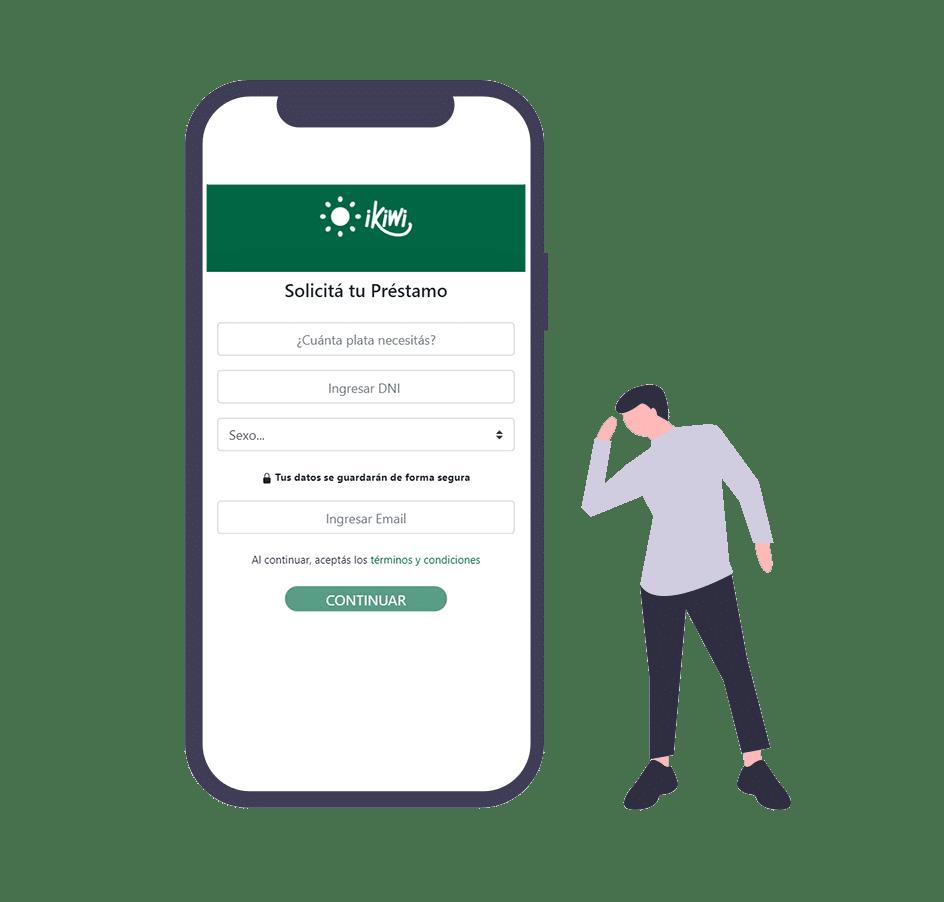 solicitar emprestimo mobile