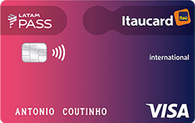 Itaucard Latam Pass Visa Classic